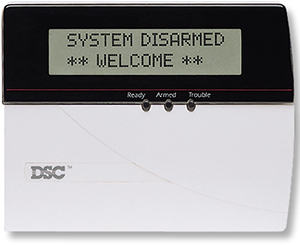 DSC Alarm LCD5500Z
